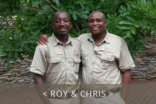 Roy and Chris